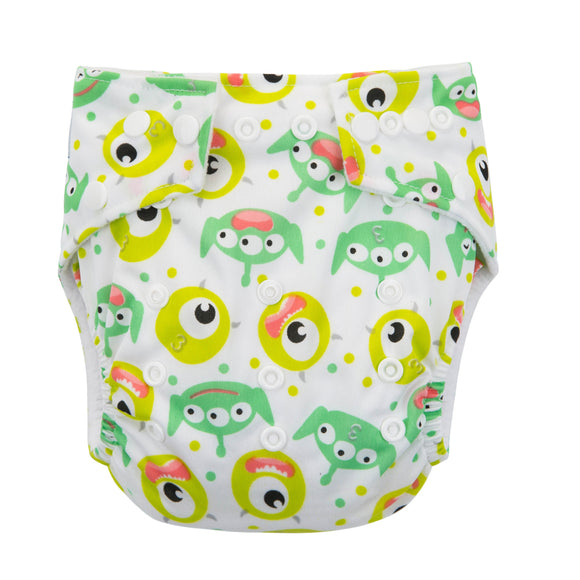 I'm Watching - Babyland Microfleece Pocket Diaper