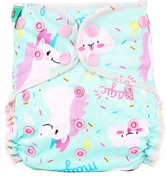 Magic Magic - Elinfant All in Two Cloth Diapers