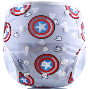 Captain America - Swim Diapers