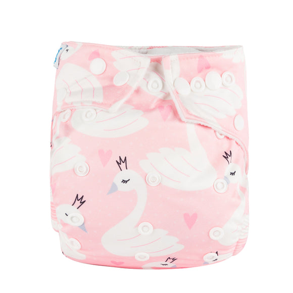 Swan - Babyland Microfleece Pocket Diaper