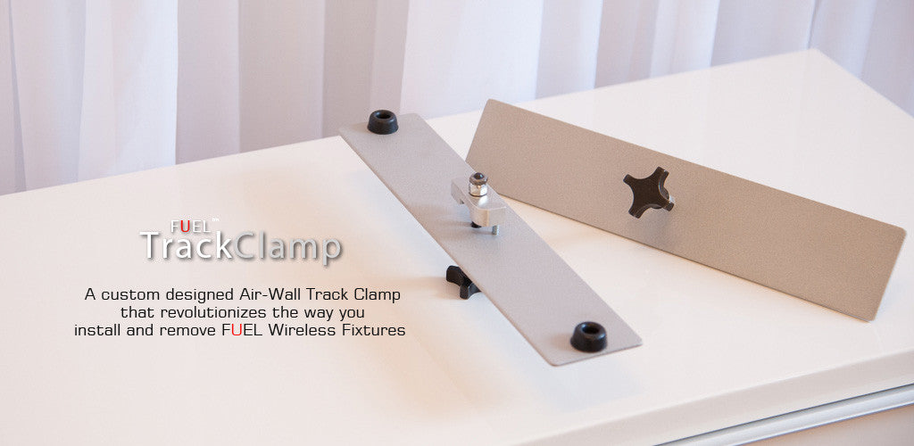 Air Wall Track Clamp