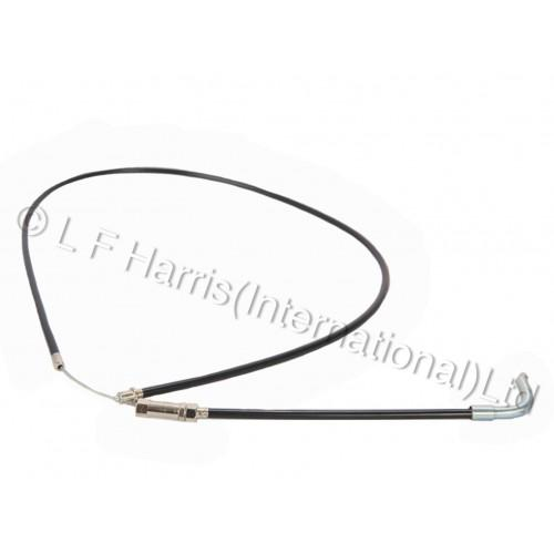 600439 - TR6 H/BAR-CARB THROTTLE CABLE 1960