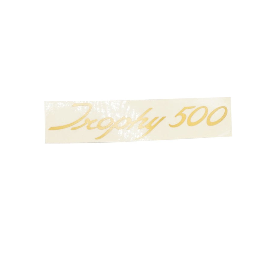 600676 - TROPHY 500 SIDECOVER DECAL 1967/68