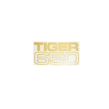 602102 - TIGER 650 SIDECOVER DECAL 1969/71