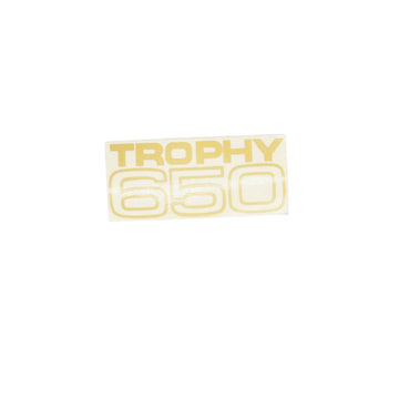 602104 - TROPHY 650 SIDECOVER DECAL 1970/