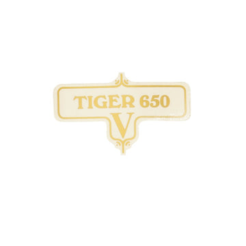 603952 - TIGER V SIDECOVER DECAL 1972/