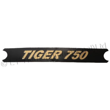 604384 - TIGER 750 BLACK DECAL 1976/78