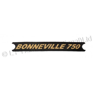 604385 - BONNEVILLE 750 DECAL BLACK 1973/78