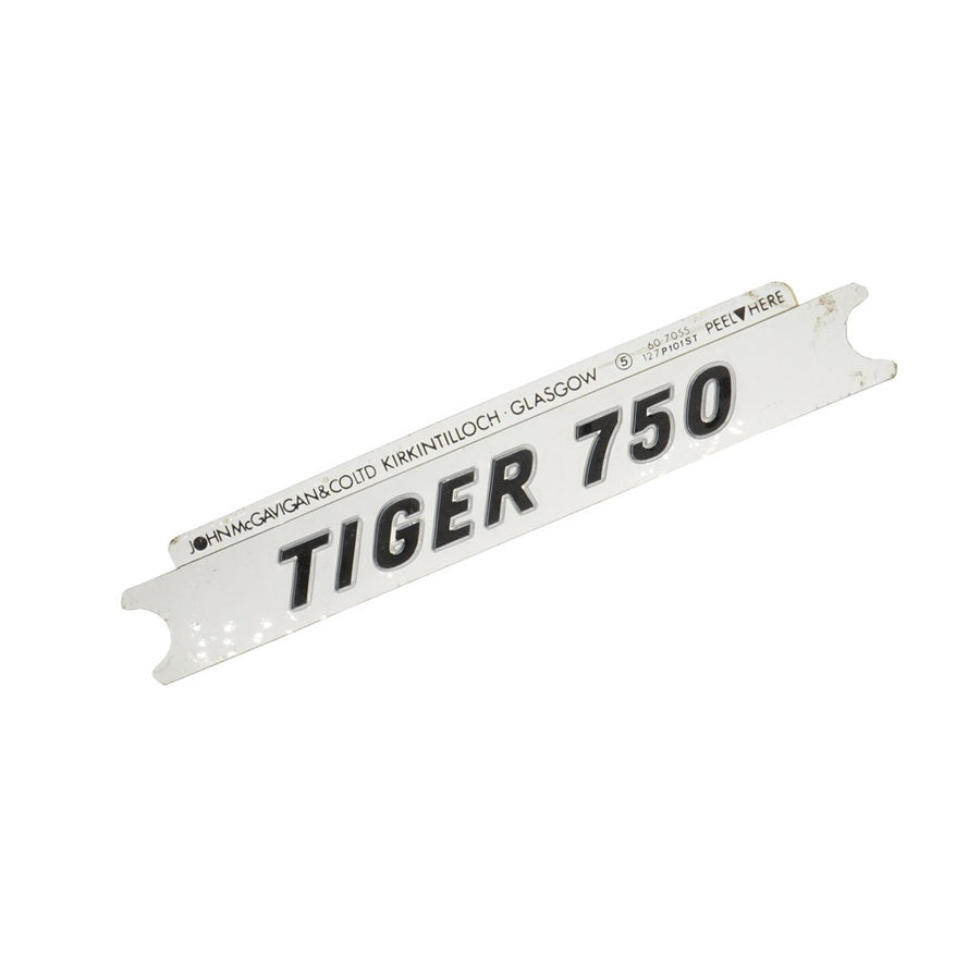 607055 - TIGER 750 DECAL 1978/