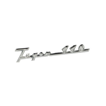 824664 - TIGER 110 SIDECOVER BADGE 1958/62