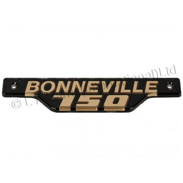 837317 - NAME PLATE GOLD/BLACK