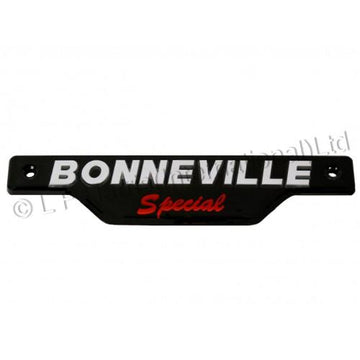 837357 - BONNEVILLE SPECIAL SIDE COVER BADGE