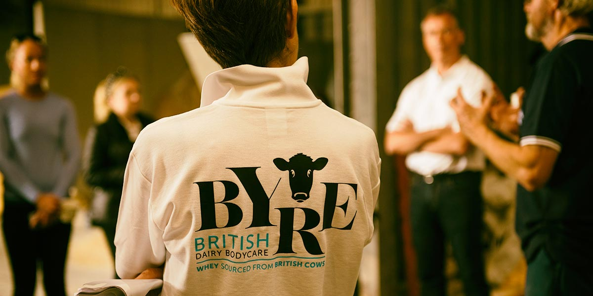 Byre Bodycare Launch Video