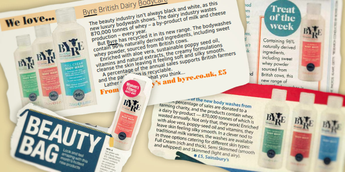 What the press has been saying about Byre Body Washes in January 2020