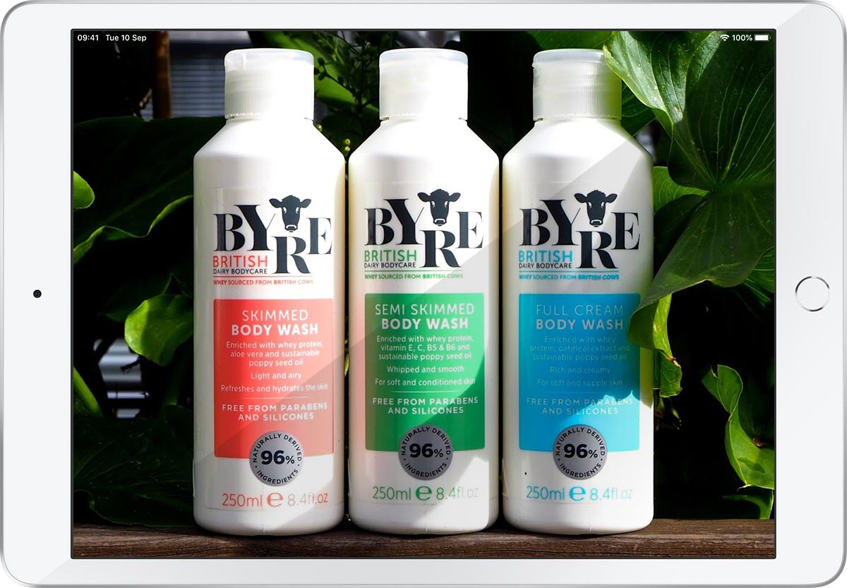 Byre Body Washes. Photograph © Pink Julep