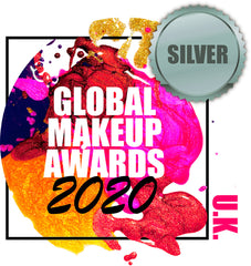 Silver award winner at the GLobal Makeup Awards 2020