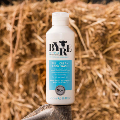 Byre Body Wash Full Cream in straw