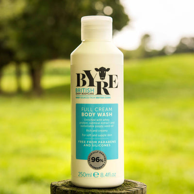 Byre Body Wash Full Cream in field