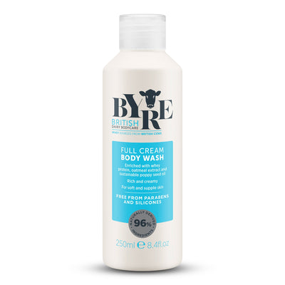 Byre Body Wash Full Cream (250ml / 8.4fl.oz)