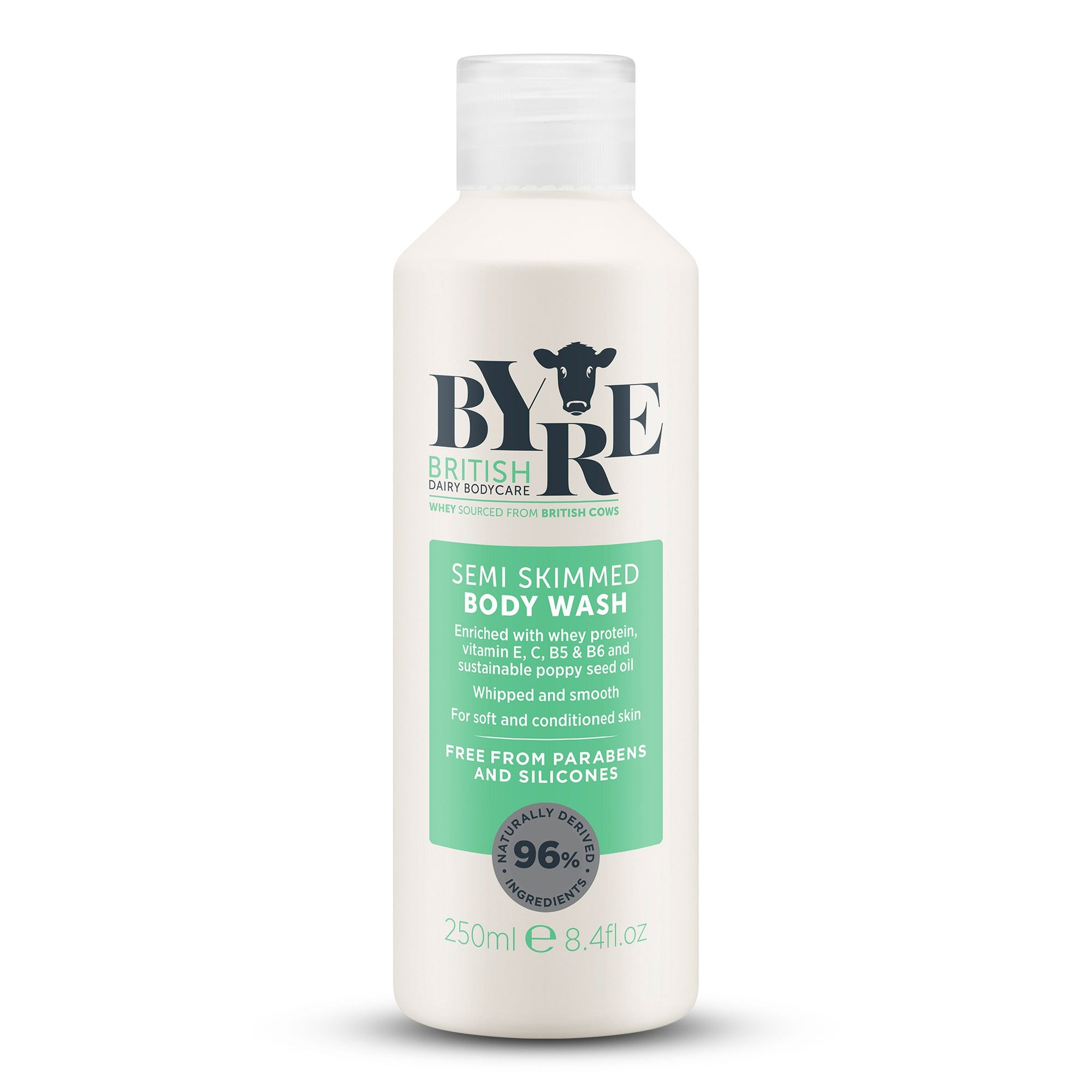 Byre Body Wash Semi Skimmed (250ml / 8.4fl.oz)