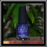 Nagellack, Stained glass Glimmerlack lila