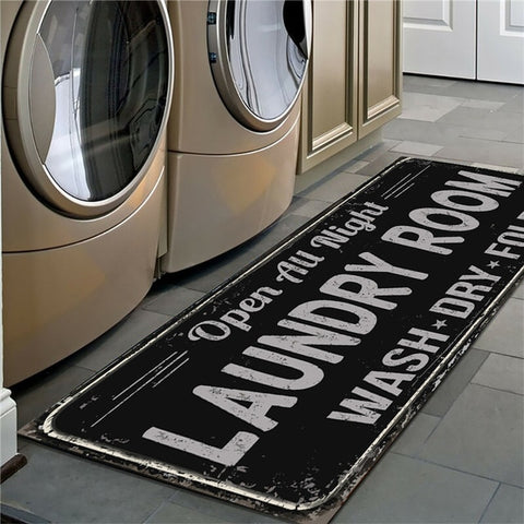 Laundry Room Non-Slip Floor Mat