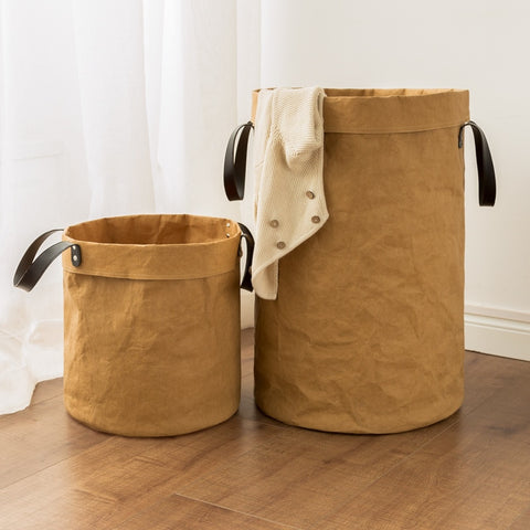 Tan Storage Basket