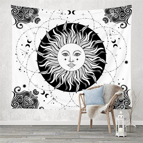 Sun Tapestry - Good Vibes Home Decor