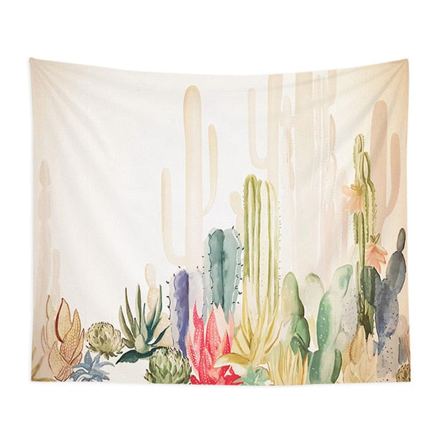 Cacti Tapestry - Good Vibes Home Decor