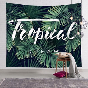 Tropical Tapestry - Good Vibes Home Decor