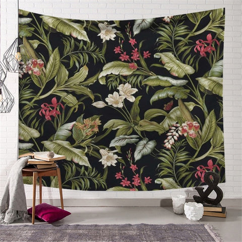 Dark Jungle Tapestry - Good Vibes Home Decor