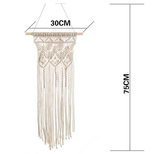 Macrame Wall Decor - Good Vibes Home Decor