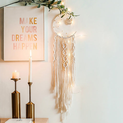 Moon Macrame - Good Vibes Home Decor