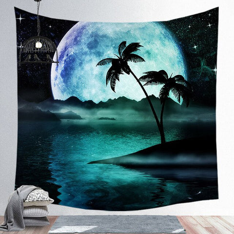 Moon Tapestry - Good Vibes Home Decor