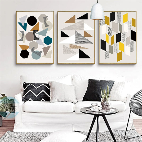 Abstract Canvas Prints - Good Vibes Home Decor