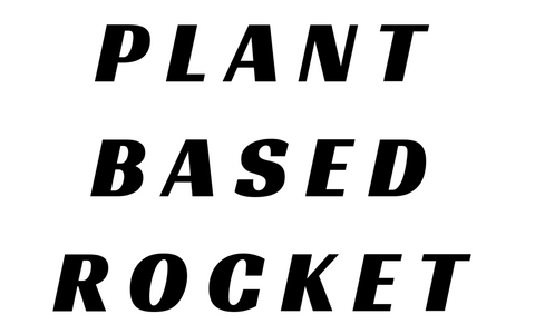 Plant Based Rocket Postcard