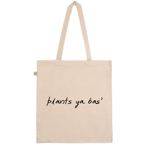 Plants Ya Bas' Cotton Tote Bag