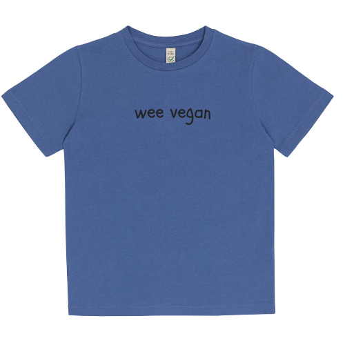 Wee Vegan Organic Cotton Kids Tee