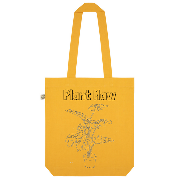 Plant Maw Organic Cotton Fashion Tote Bag