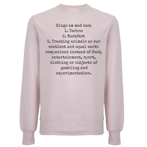 Techno & Buckfast Unisex Organic Cotton Sweatshirt