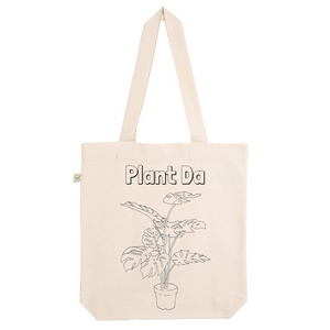 Plant Da Organic Cotton Fashion Tote Bag