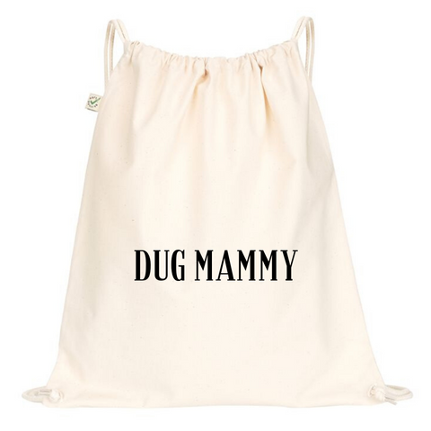 Dug Mammy Drawstring Bag