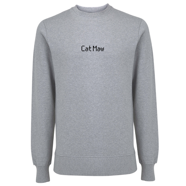 Cat Maw Unisex Organic Cotton Sweatshirt