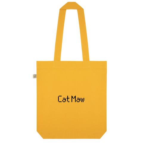 Cat Maw Organic Cotton Fashion Tote Bag