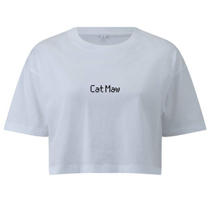 Cat Maw Crop Tee