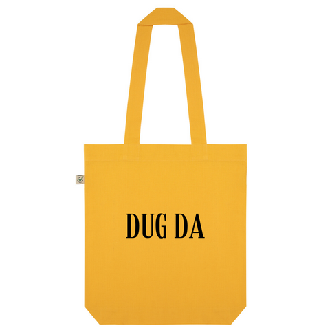 Dug Da Organic Cotton Fashion Tote Bag