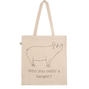 Who You Callin' A Banger? Tote Bag
