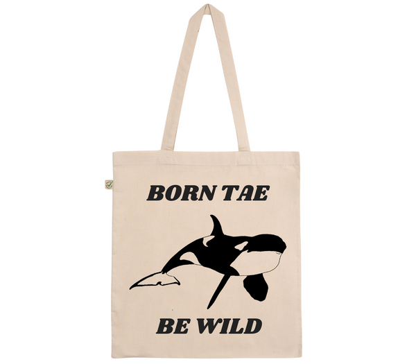 Born Tae Be Wild Cotton Tote Bag