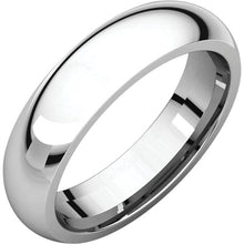 Load image into Gallery viewer, 5 mm Platinum Comfort Fit Classic Wedding Band