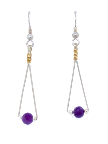 Balance Earrings (Choose Stone)